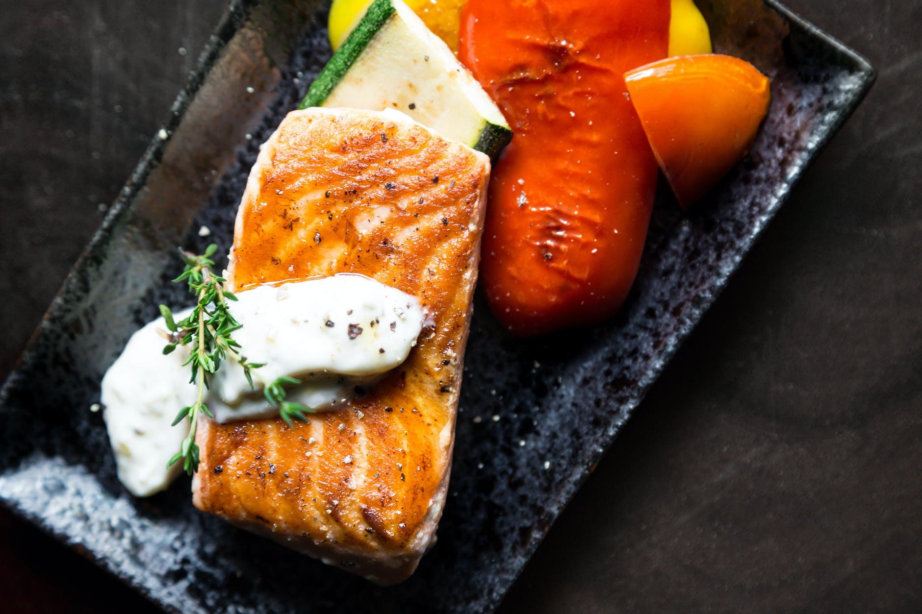 Omega-3s are abundant in salmon